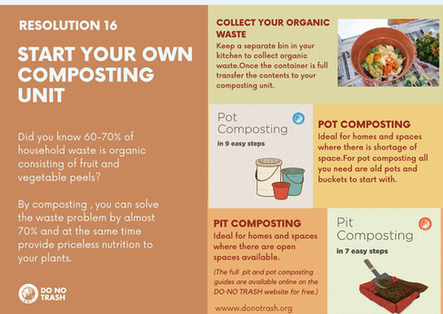 Start Your Own Composting Unit