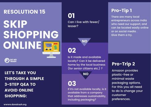Skip Shopping Online