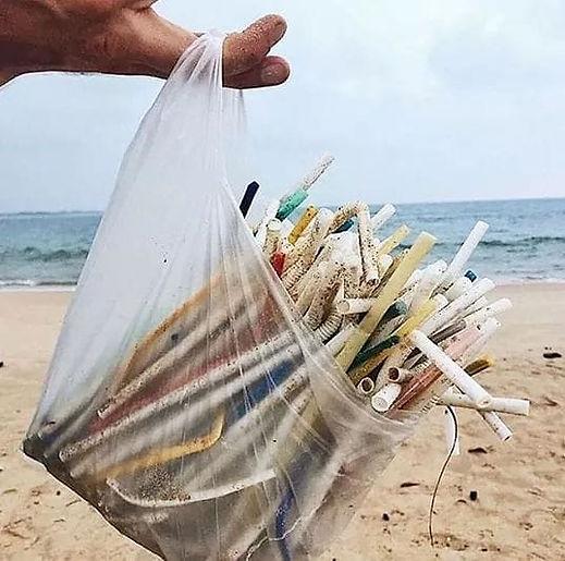 no to plastic straws