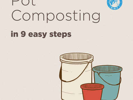 Home Composting : Pots and buckets to the rescue!