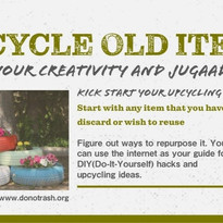 Upcycle Old Items