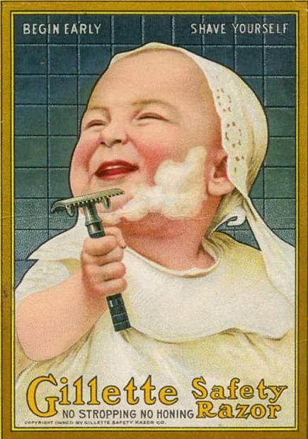 Vintage-Shaving-Ad-Gillette-Safety-Razor
