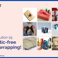 Plastic-Free Gift Wrapping