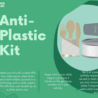 Carry Your Anti-Plastic Kit!