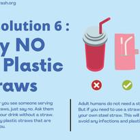 Say No To Plastic Straws