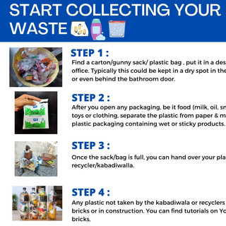 Start Collecting Your Plastic Waste