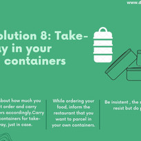 Take-Away In Your Own Containers
