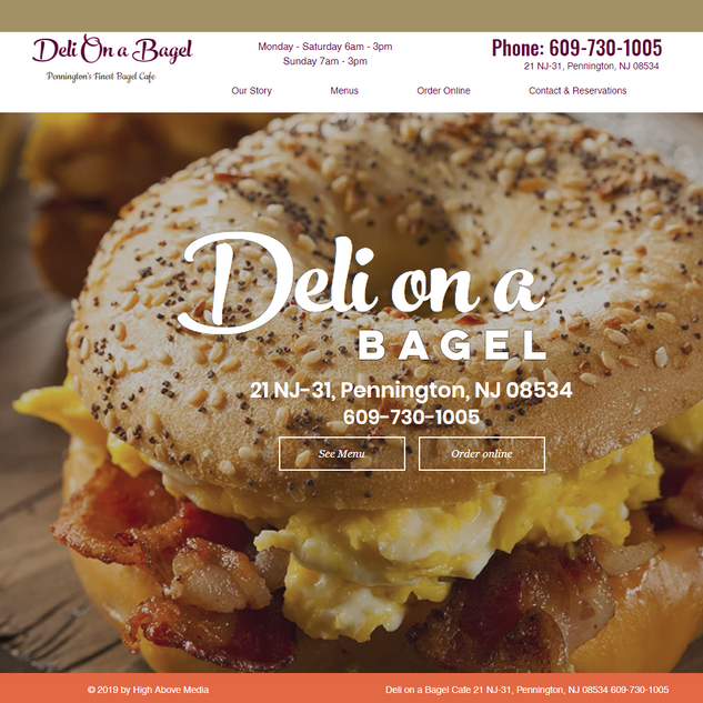 Deli on a Bagel