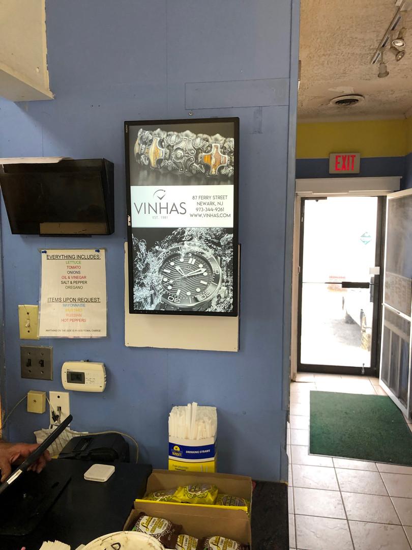 "Subslingers 24"" Signage Board"