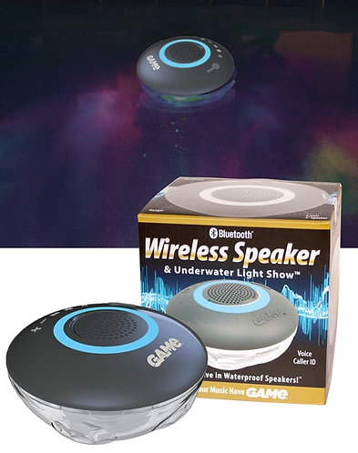 Floating Bluetooth Wireless Speaker & Underwater Light Show