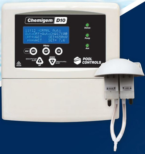 Chemigem D10 Automatic Chemical Dosing System with Valves