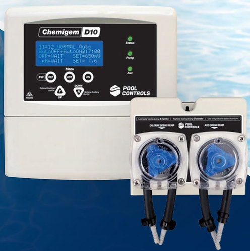 Chemigem D10 Automatic Chemical Dosing System with pumps