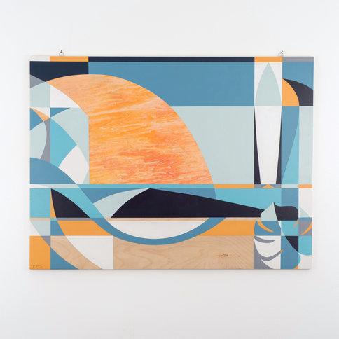 """24"""" x 32"""" SURF SUN   2020"""
