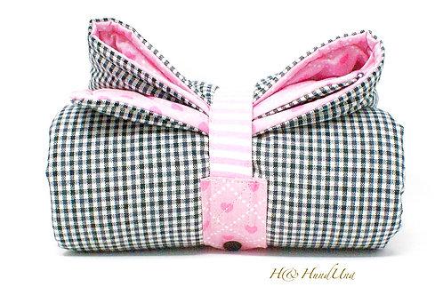 H& TakeAway Decke BlackLovesPink