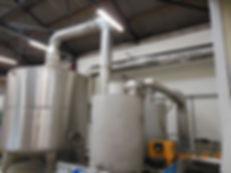 afgas-systeem van een oven twee-traps wa