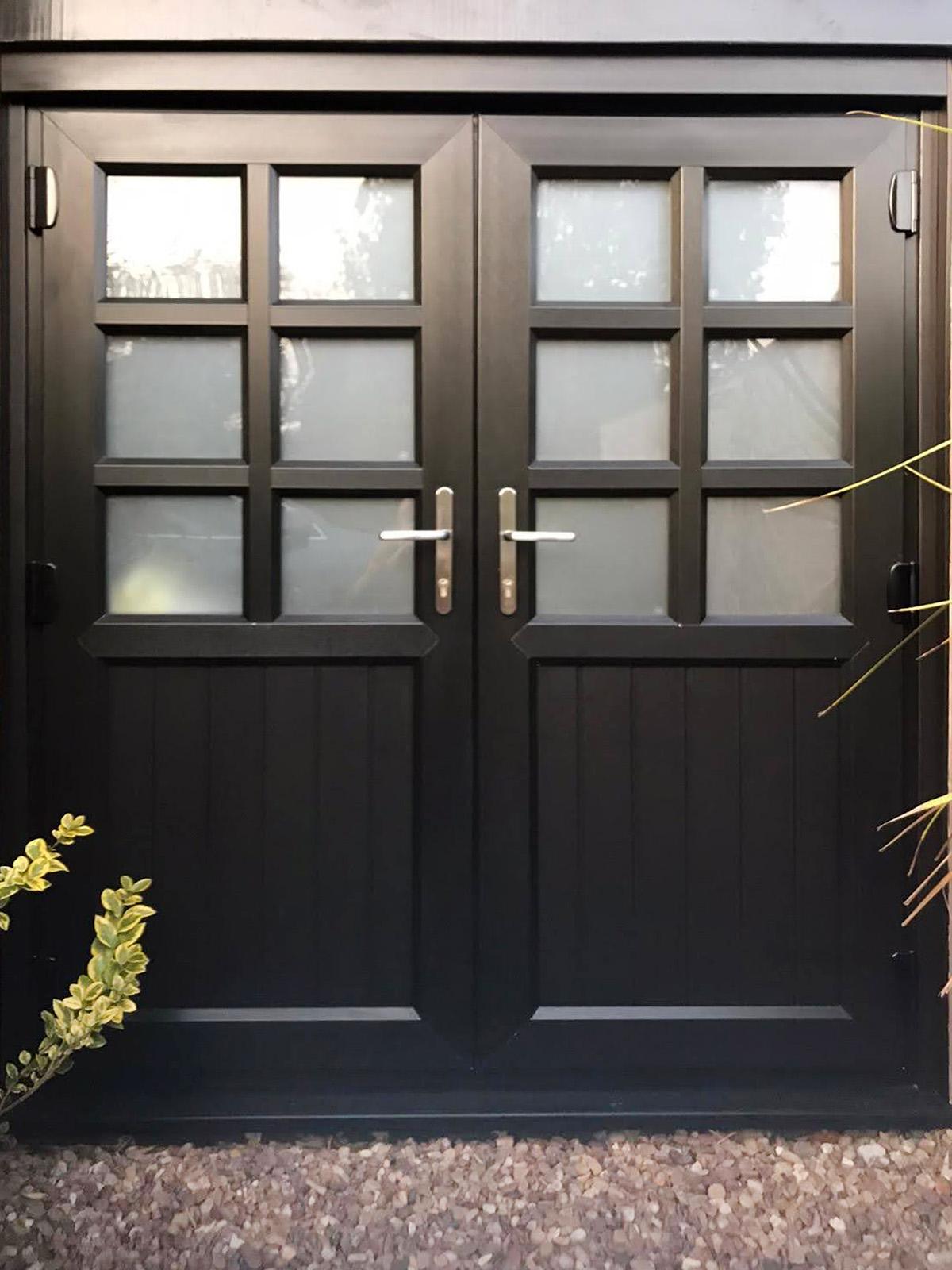 New Double Front Door