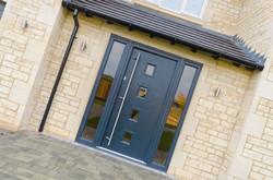 Anthracite Designer Front Doors