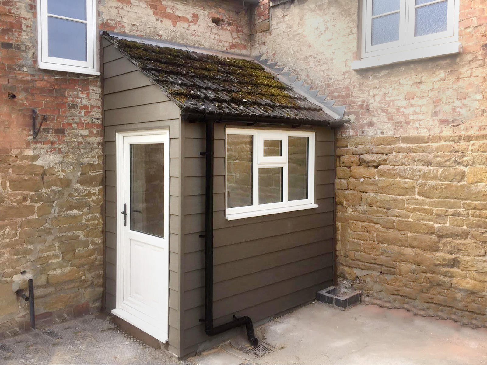 New Front Door and Porch