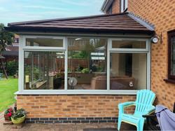 Grantham Warm Roof Garden Room