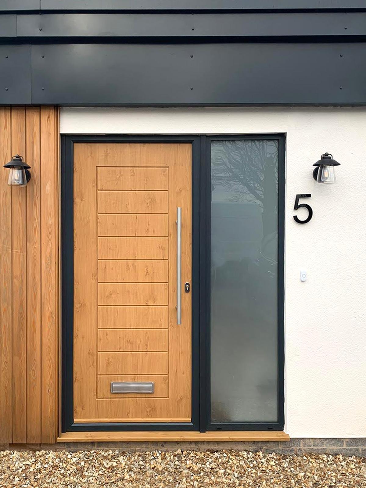 New Oak Front Door Grantham