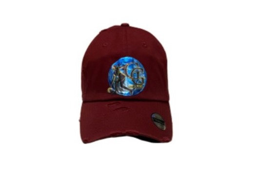 Got Game Baseball Hat (Burgundy)