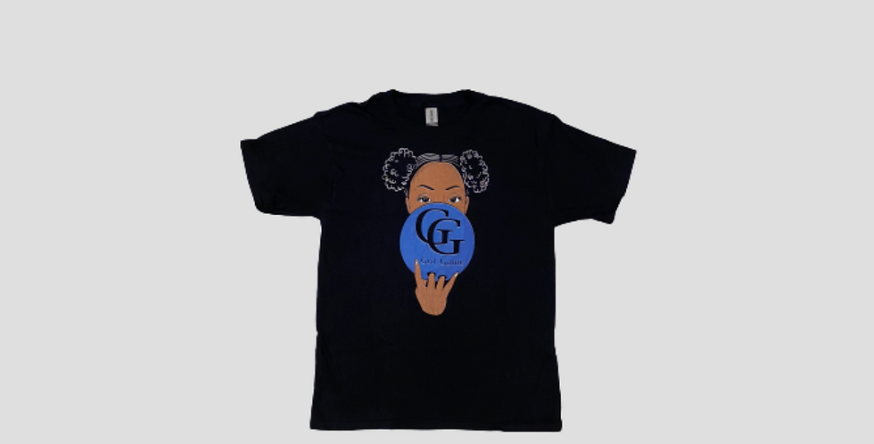 Youth GG Afro Puffs Tee