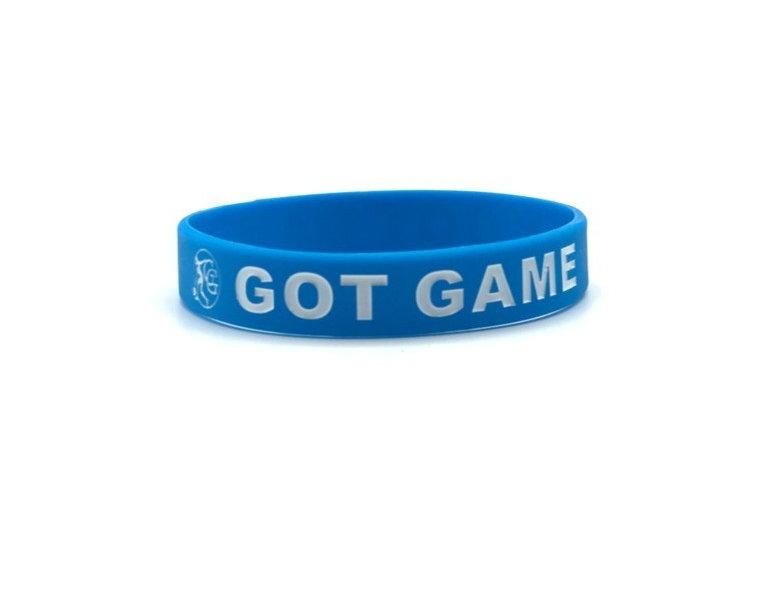 Got Game Wristband (Blue)