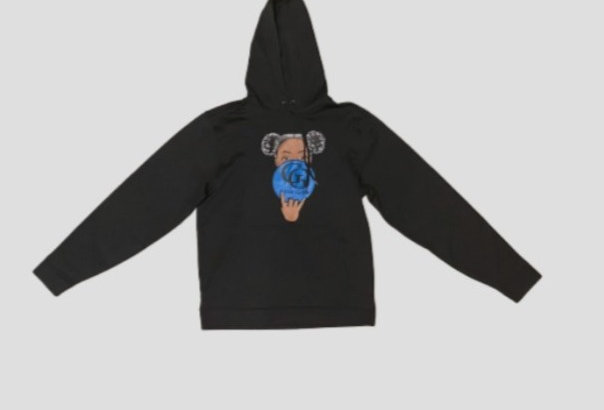 GG Afro Puffs Hoodie (Black)