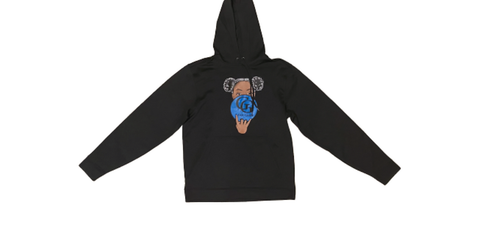 GG Afro Puffs Hoodie (Black)