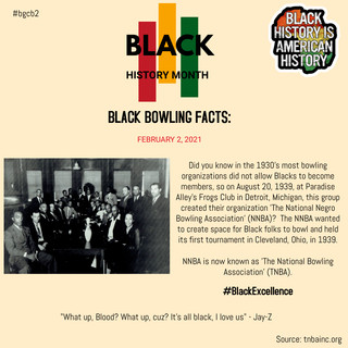 THE NATIONAL NEGRO BOWLING ASSOCIATION