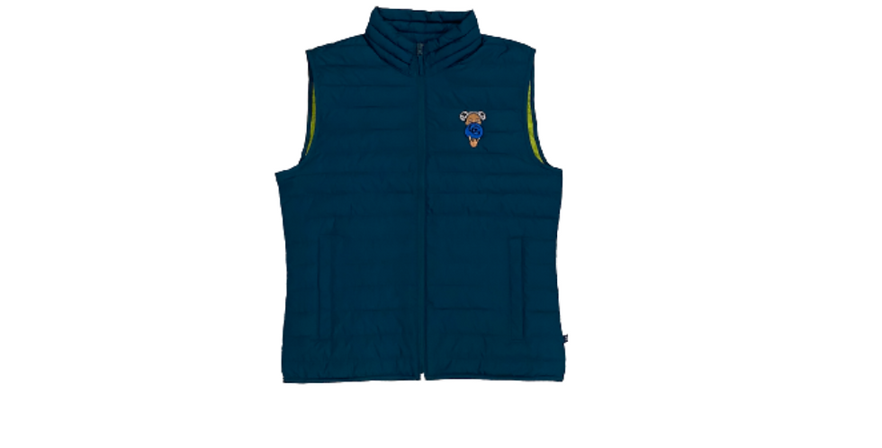 GG Afro Puffs Vest (Teal)
