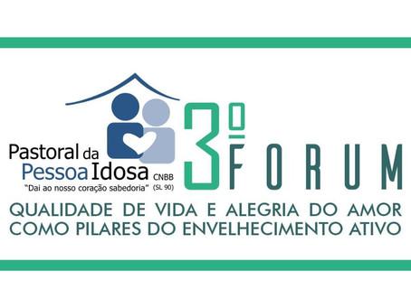 Pastoral da Pessoa Idosa do Maranhão realiza, em julho, III Fórum de Debate