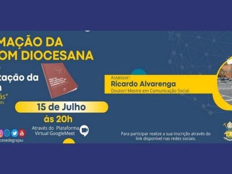 Pastoral da Comunicação da Diocese de Grajaú promove I Encontro de Formação Diocesana