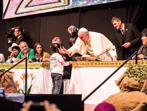 Papa participa da segunda fase do Encontro Mundial dos Movimentos Populares