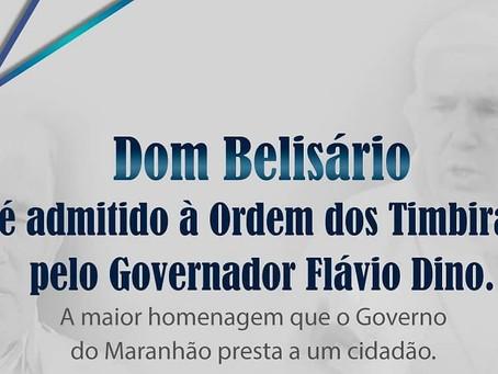 Ordem dos Timbiras: Dom José Belisário da Silva receberá homenagem do governador Flávio Dino