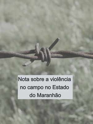 Em nota, Bispos do Maranhão alertam sobre o crescimento dos conflitos agrários