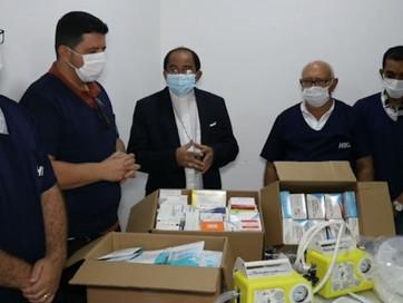 Diocese de Carolina recebe respiradores e medicamentos doados pelo papa Francisco