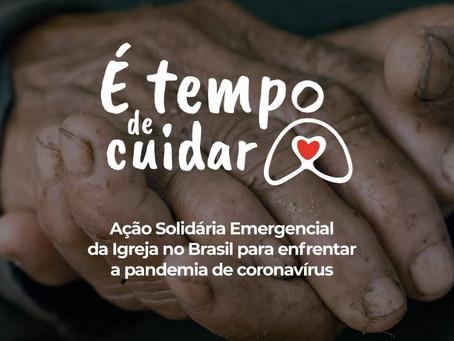 """CNBB e Cáritas lançam segunda fase da Ação Solidária Emergencial """"É Tempo de Cuidar"""""""