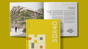 Libro 30 x 40 Destacados Arquitectos Jóvenes del Ecuador, de la Revista Trama - Arquitectura+Diseño