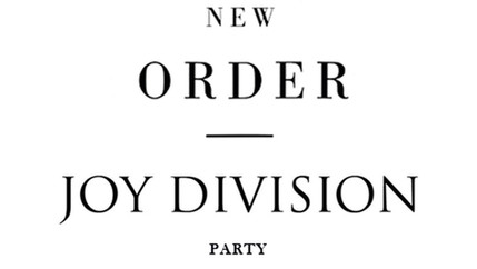 New Order | Joy Division Party