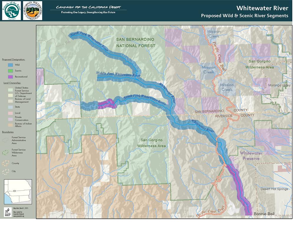 Whitewater River Wild & Scenic River