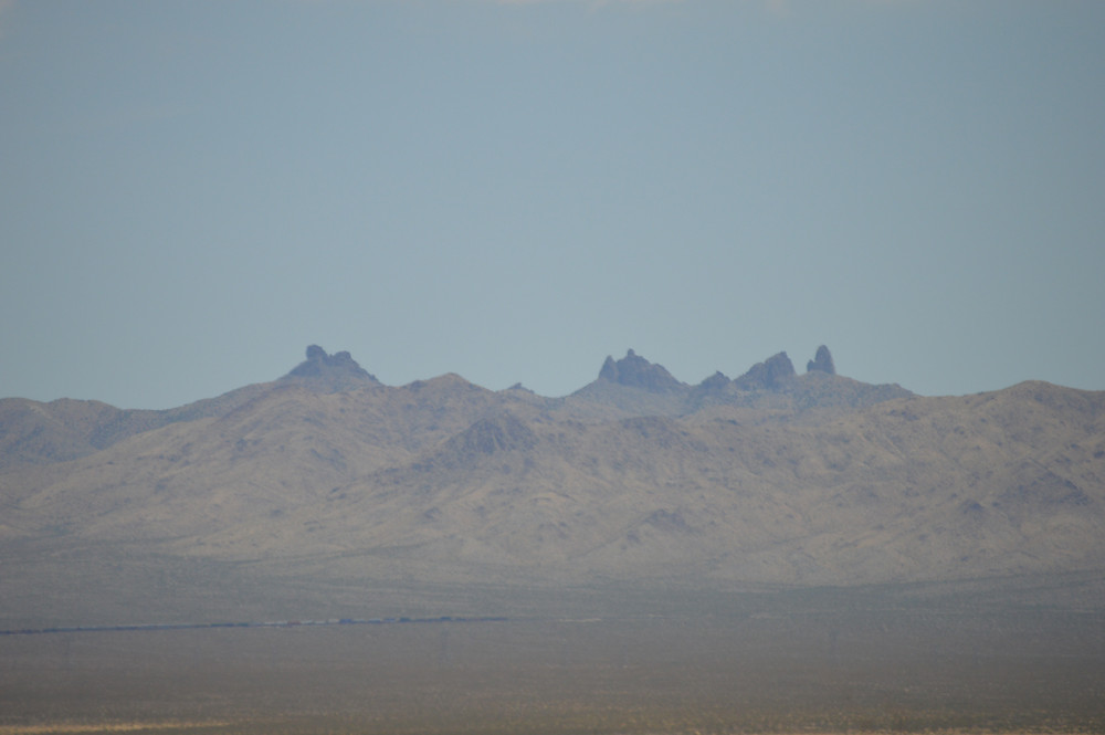 Castle Mountains National Monument, from the Mojave National Preserve.