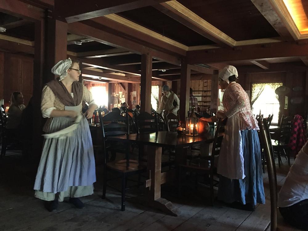 Inside Hawk's Head Tavern, Riley's Farm