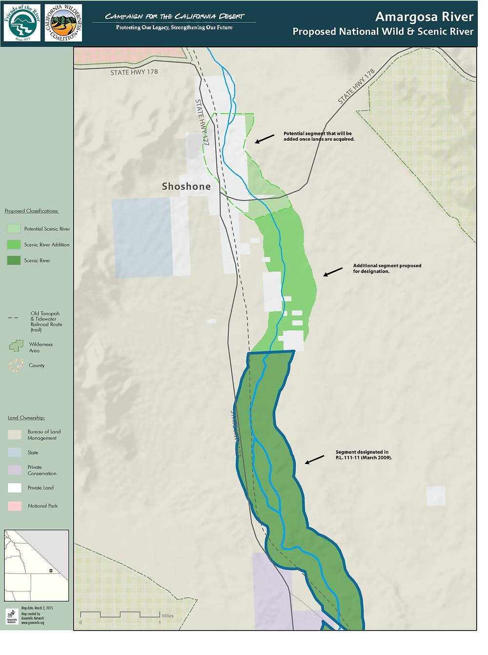 Amargosa River Wild & Scenic River