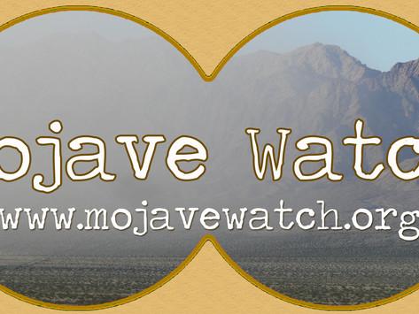 Shutting down Mojave Watch operations