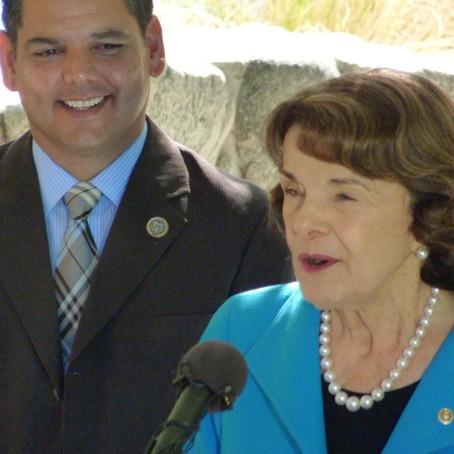 Senator Feinstein confronts BLM's planned DRECP changes