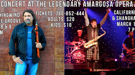 Join me for two weekends of great music and fun at the legendary Amargosa Opera House