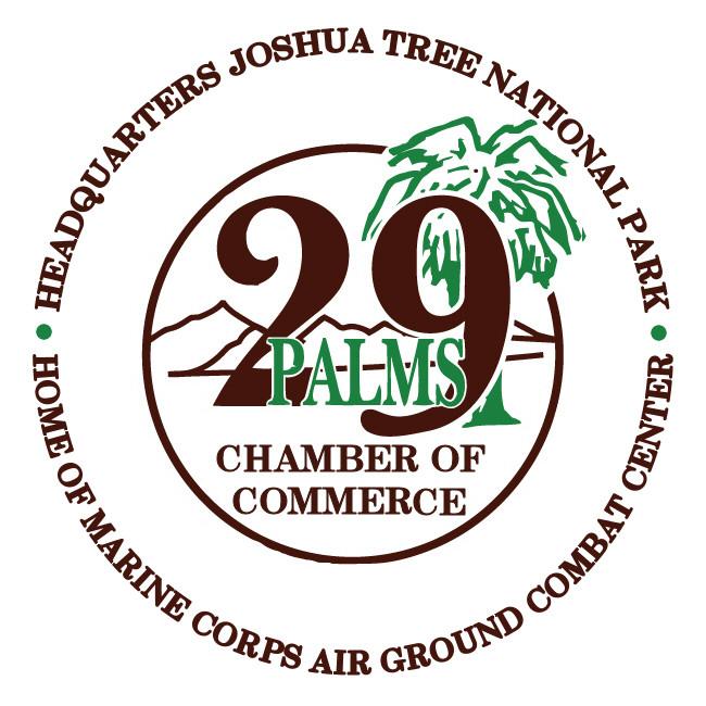 29 Palms Chamber of Commerce Logo