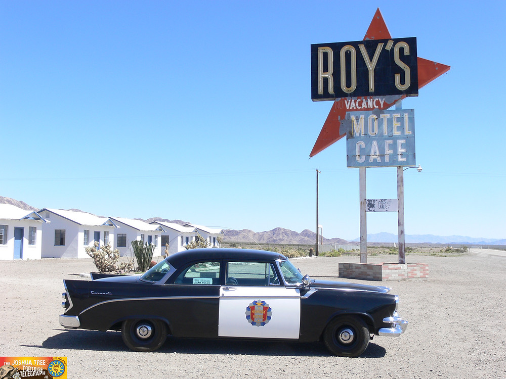 Amboy, on Route 66 in the Mojave Desert