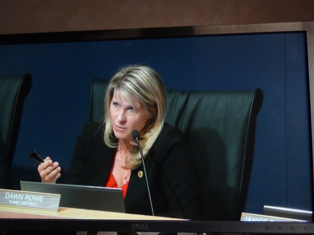 A court ruling has declared Supervisor Dawn Rowe's appointment to be illegal.  Rowe is no longer acting as supervisor.